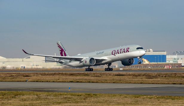 Airbus A350 de Qatar Airways