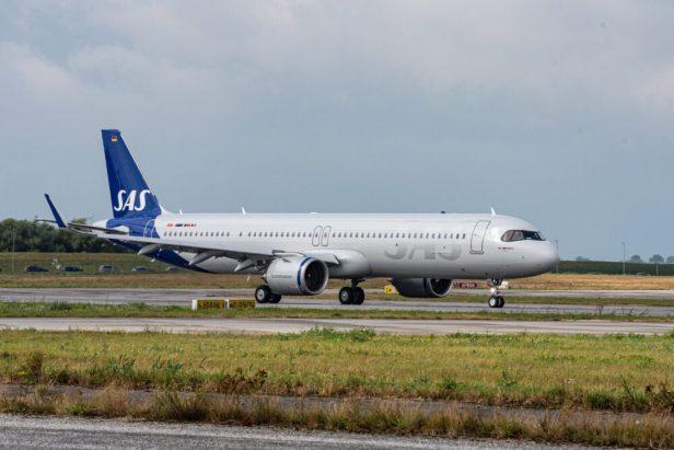 Airbus A321LR de SAS