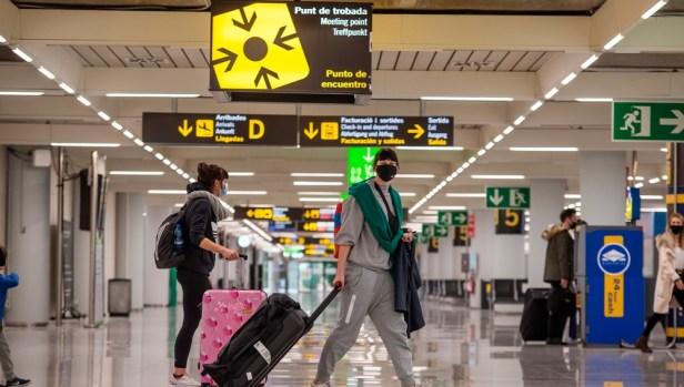 Llegadas Aeropuerto de Madrid Barajas Adolfo Suarez