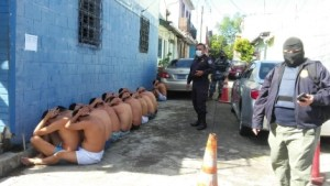 Salvadoran Police arrest multiple gang members in Operation Regional Shield