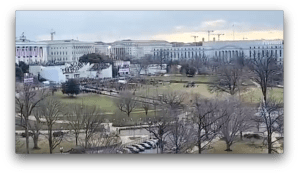 Nobody Attended Biden's Inauguration