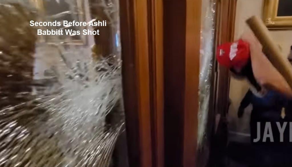Seconds Before Ashli Babbit was shot