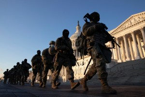 15,000 armed National Guard troops in DC for Biden inauguration