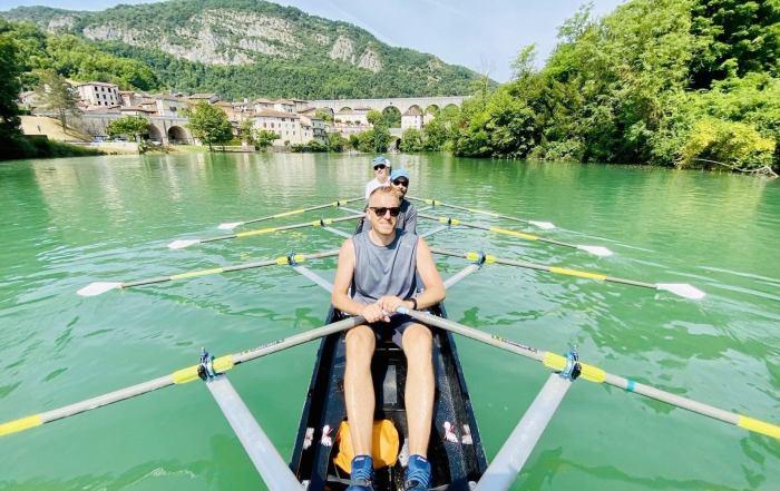 Randonnée d'aviron loisir Cercle Aviron Lyon