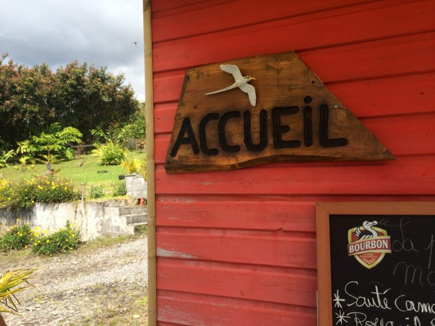 Avis Restaurant - Domaine des radiers - Sainte-Rose - Accueil 2