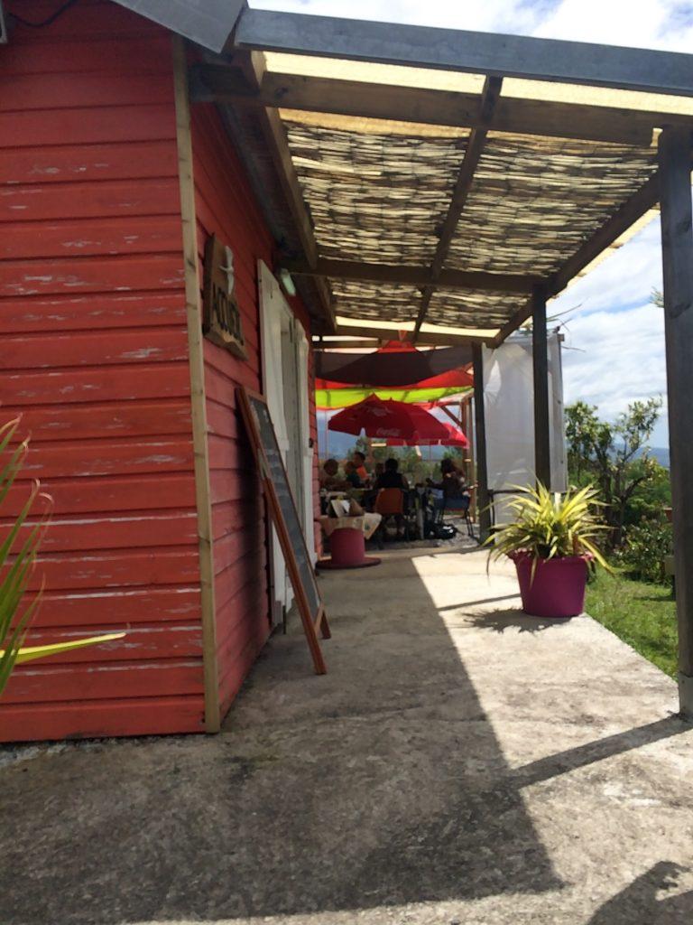 Avis Restaurant - Domaine des radiers - Sainte-Rose - entrée