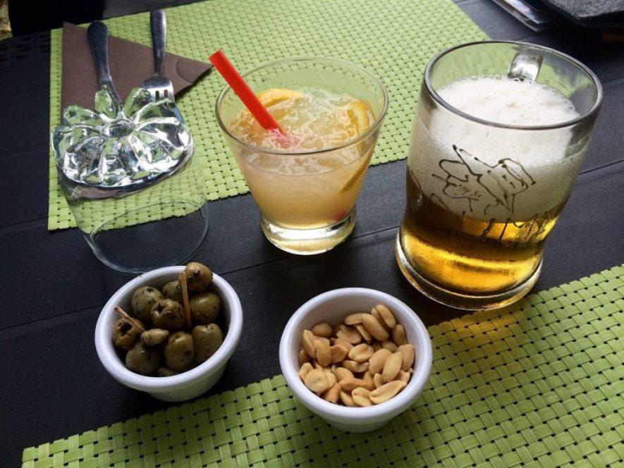 bonne adresse restaurant saint-paul 974 la barque-ile-reunion-aperitif