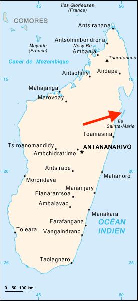 Île aux Nattes île sainte-marie madagascar voyage