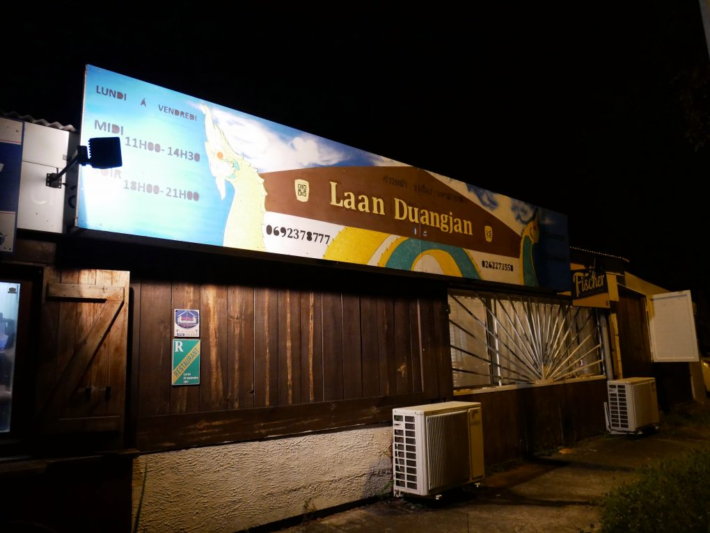 laan duangjan bonne adresse restaurant thai saint paul 974 devanture