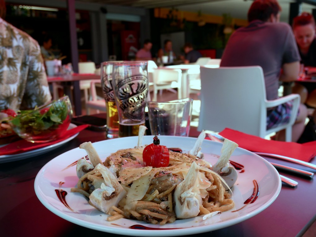restaurant italien la saline les bains reunion 974 pates fraiches truffe