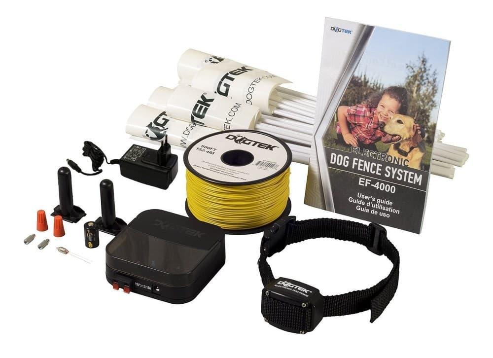 Dogtek EF 4000 – Avis sur ce kit collier et clôture anti-fugue pour chien