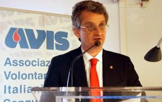 Maurizio Pirazzoli Presidente Avis Emilia-Romagna
