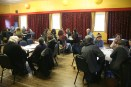 Visioning Session I 'Inner Transition' - some of the participants discussing ideas for Galway's future