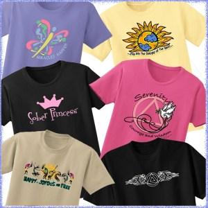Variety of Tee Shirts
