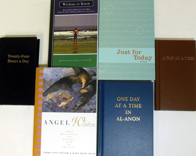 We Have a Great Selection of Daily Meditation Books at A Vision For You