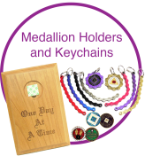 Medallion Holders and Keychains