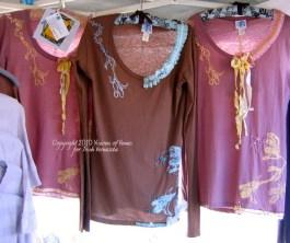 3 Coutured Tshirts at Bonsall Faircr