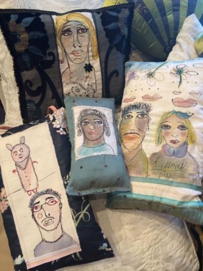 Art Pillows By Trish Vernazza