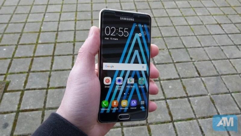 Galaxy A5 2016 Ergonomie