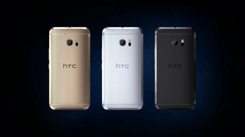 HTC 10 Couleurs