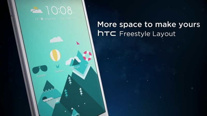 HTC 10 Freestyle Layout