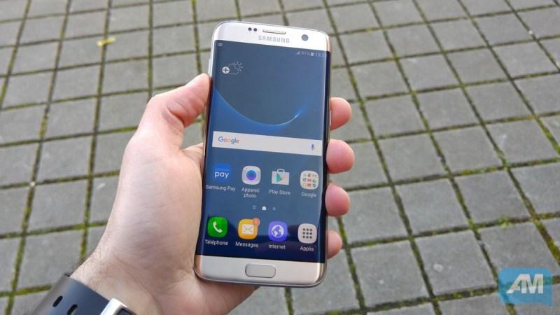 Samsung Galaxy S7 Edge Ecran