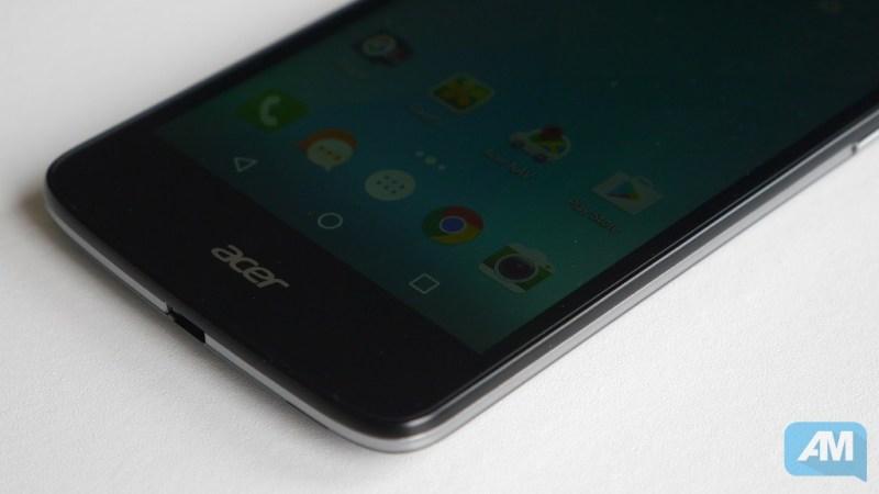 Acer Liquid Zest 4G Ecran