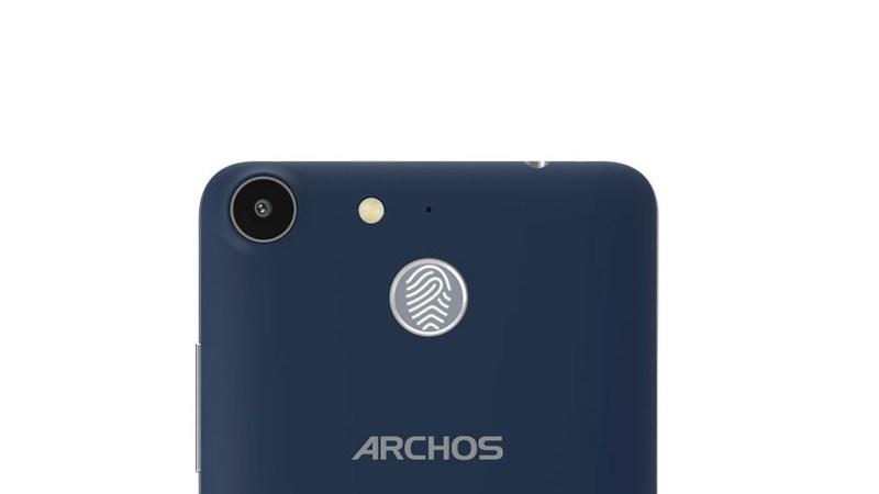Archos 50f Helium Scanner d'empreintes