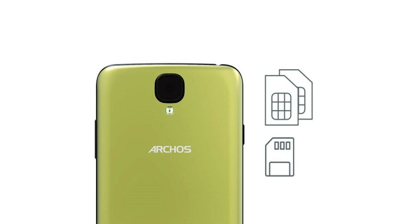 Archos 55 Helium SIM  Micro SD