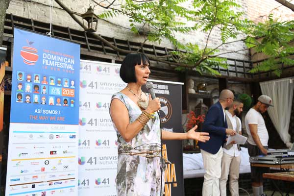 Diana Vargas, Dominican Film Festival Press Conference