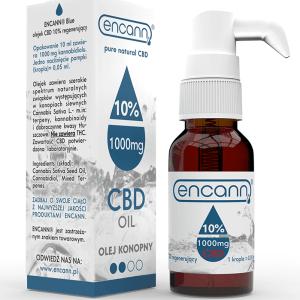 Encann® Blue 10% CBD Öl 10 ml Vollspektrum