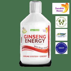 Ginseng Energy 500 ml - Swedish Nutra