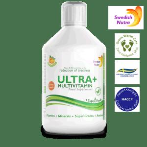 Ultra+ Multivitamin 500 ml - Swedish Nutra