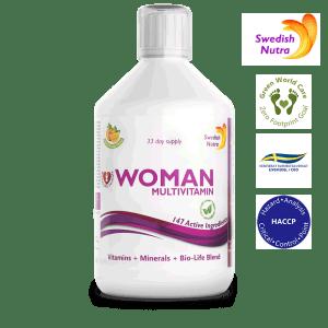 Woman Multivitamin 500 ml - Swedish Nutra
