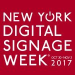 New York Digital Signage Week 2017
