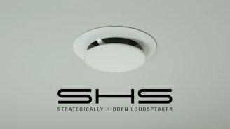 SHS ceiling with SHS logo