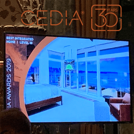 CEDIA Awards 2019 Best Integrated Home