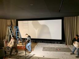Seymour-Screen installed