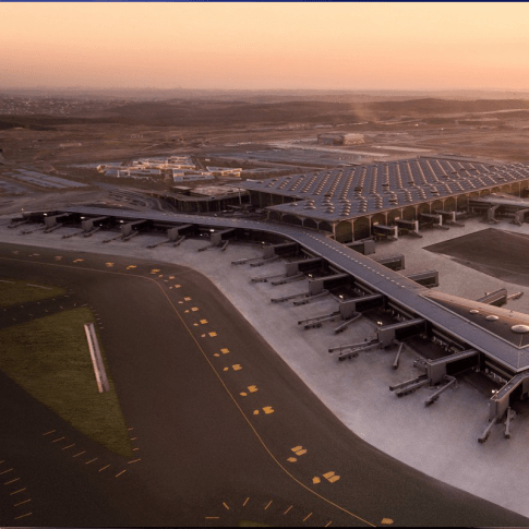 AtlasIED Istanbul airport overview