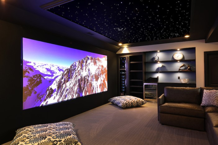 Greensboro's under the stars, over the top home theater