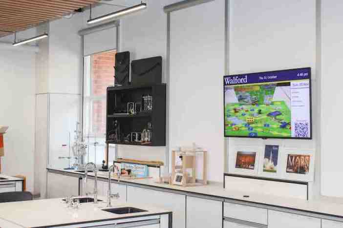 Carousel Digital Signage manages campus communications at Australia's Walford Anglican School for Girls