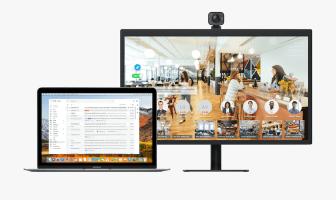 Collaboration Squared showcases video conferencing portal, Video Window