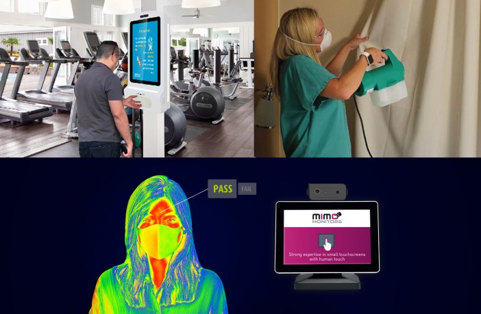 Almo Pro AV debuts trio of public health safety products