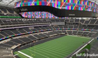 Samsung, Hollywood Park team up on LED video display installation at SoFi Stadium