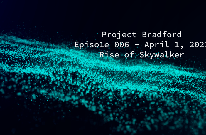 Project Bradford Episode 6 Title Card