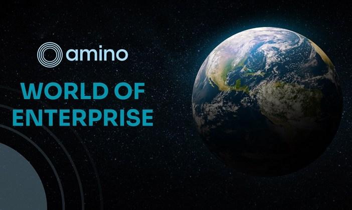 Amino world of enterprise graphic