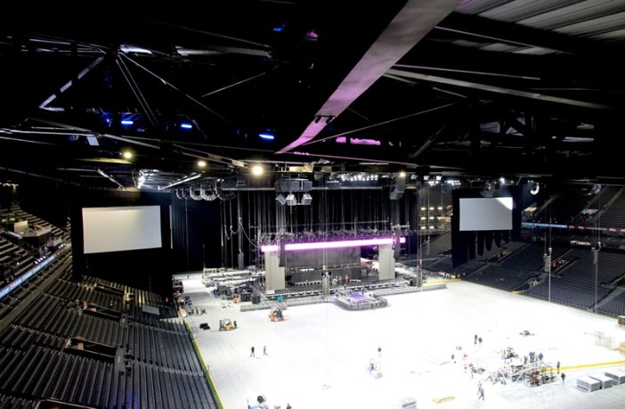 arena with new av upgrades