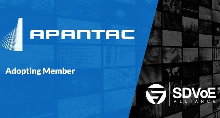 SDVoE Alliance adopter -Apantac