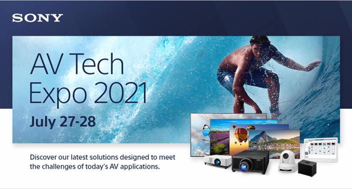 Sony AV Tech Expo 2021
