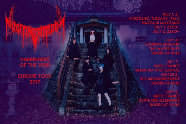 HARBINGERS OF THE VOID Europe Tour 2017